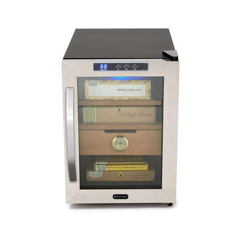 Whynter CHC-120S 1.2 cu. ft. Cigar Humidor Manufacturer RFB - FactoryPure - 1