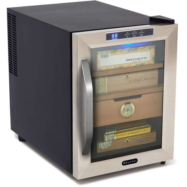 Whynter CHC-120S 1.2 cu. ft. Cigar Humidor Manufacturer RFB - FactoryPure - 2