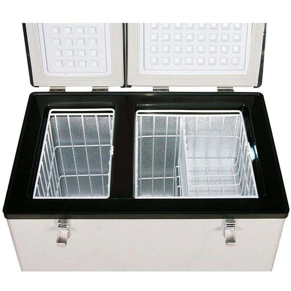 Whynter FM-62DZ Dual Zone Portable Fridge/ Freezer Manufacturer RFB - FactoryPure - 2