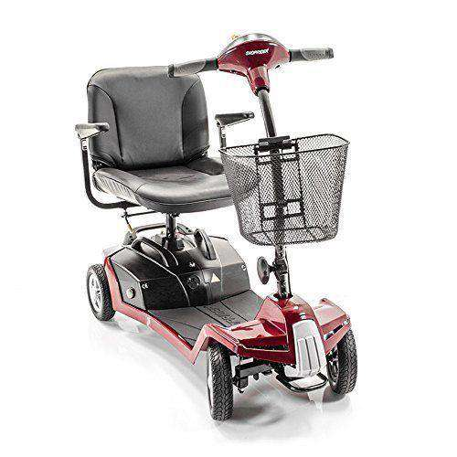 Shoprider 7A Escape 4-Wheel Portable Mobility Scooter New Red