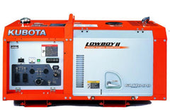 Kubota GL11000-TM Lowboy ll Series 11kW Liquid Cooled Single Phase Diesel Generator New