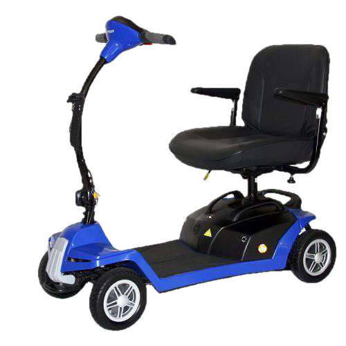 Shoprider 7A Escape 4-Wheel Portable Mobility Scooter New Blue