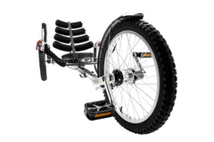 Mobo Cruiser TRI-301BK Adults' Shift 20 in Three Wheel Cruiser Black New