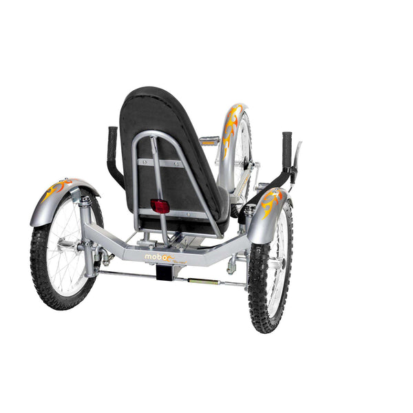 Mobo Triton Pro TR-501S Adult Ultimate Three Wheeled Cruiser Recumbent Bicycle 20 Silver New