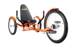 Mobo Triton Pro TR-501O Adult Ultimate Three Wheeled Cruiser Recumbent Bicycle 20 Orange New