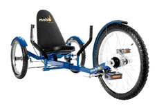 Mobo Triton Pro TR-501BL Adult Ultimate Three Wheeled Cruiser Recumbent Bicycle 20 Blue New