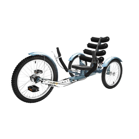 Mobo Cruiser TRI-301BL Adults' Shift 20 in Three Wheel Cruiser Blue New