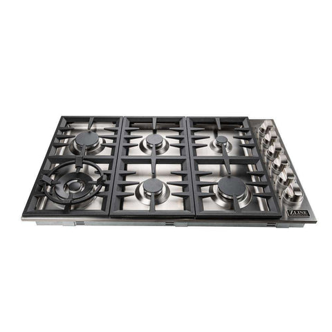 ZLINE RC36 36 in. Dropin Cooktop with 6 Gas Burners stainless Steel New