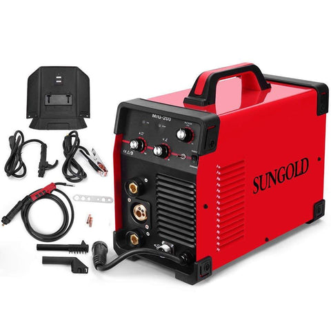 SUNGOLDPOWER ARC-200S 200A ARC MMA IGBT 110V/220V Dual Hot Start Welding Machine DC Inverter Welder New