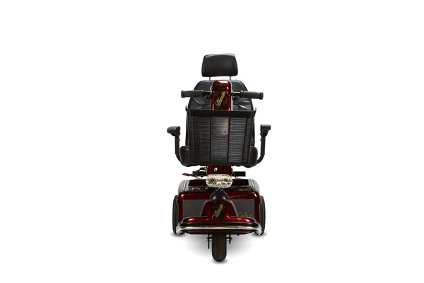 Shoprider 888B-3 Sunrunner 3 Wheel Mobility Scooter New Burgundy