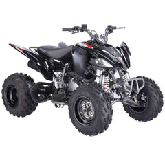 Vitacci Pentora 250cc 4 Speeds with reverse CARB Compliant Racing ATV Black New