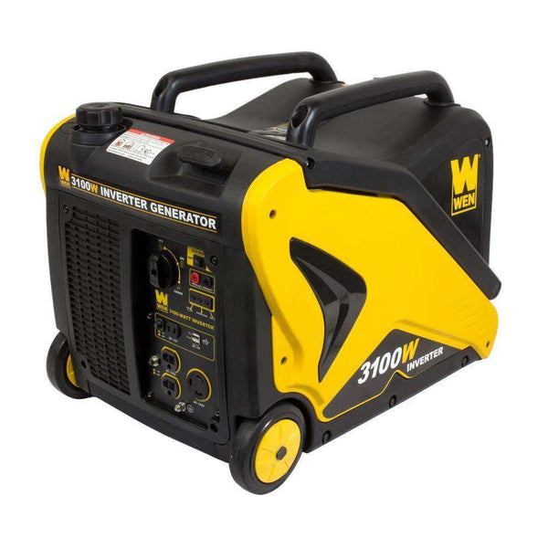 WEN 56310i 3100W/2800W Inverter Generator with Built-in Wheels and Handle New