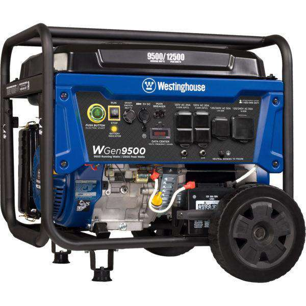 Westinghouse WGen9500 9500W/12000W Gas Remote Start Generator New