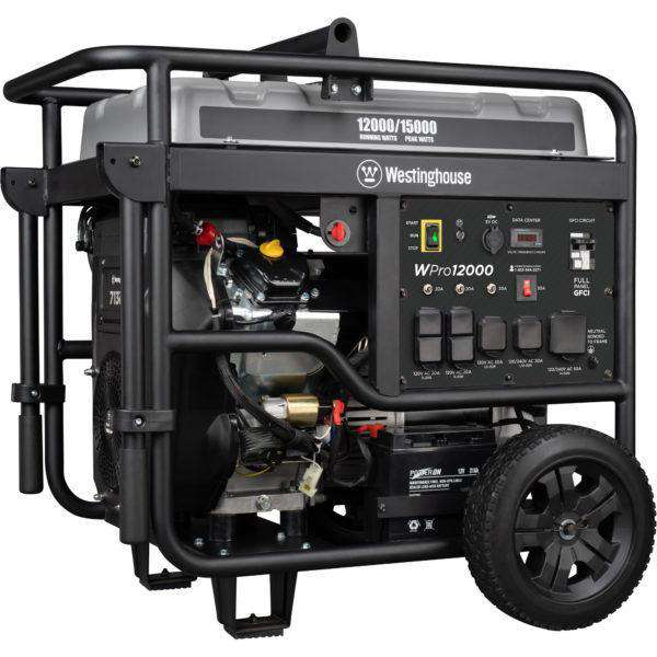 Westinghouse WPro12000 12000W/15000W Gas Generator with Wireless Remote Start New