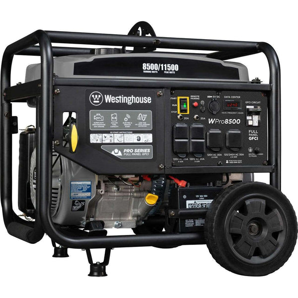 Westinghouse WPro8500 8500W/11500W Low THD Generator Remote Start New