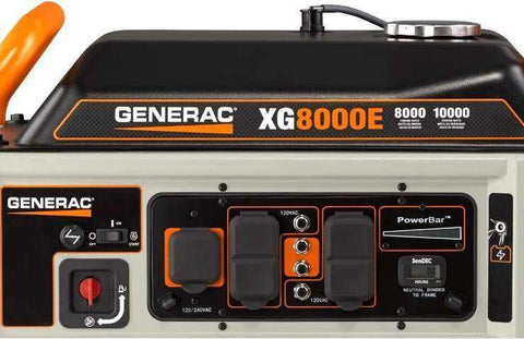 Generac XG8000E 8000W/10000W Generator Electric Start New