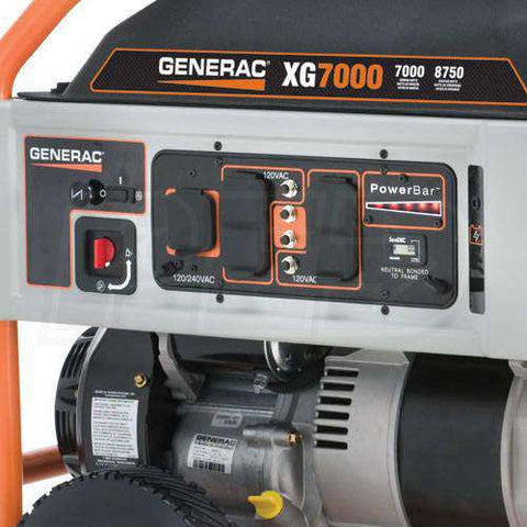 Generac XG7000E 7000W/8750W Generator Electric Start Manufacturer RFB