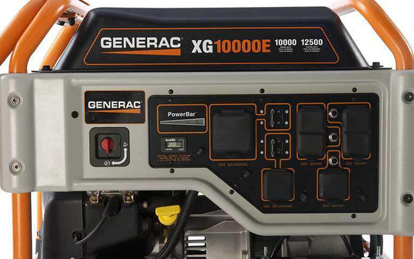 Generac XG10000E 10000W/12500W Generator Electric Start Manufacturer RFB