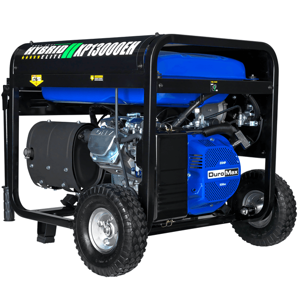 DuroMax XP13000EH 10500W/13000W Gas 20 HP Electric Start Dual Fuel Generator New