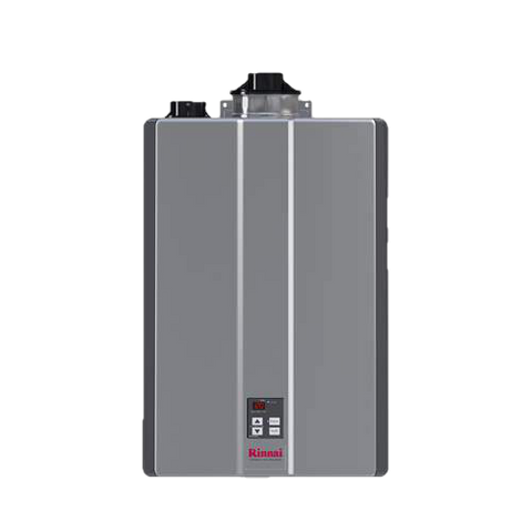 Rinnai RU180iN 10 GPM Indoor Whole Home Natural Gas Condensing Tankless Water Heater New