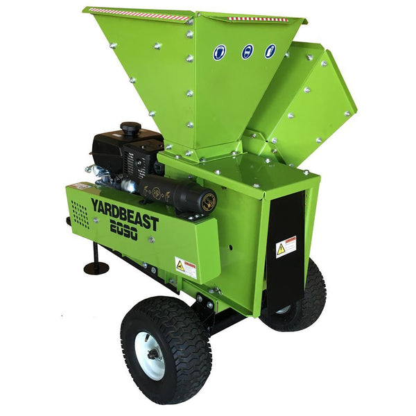 "YARDBEAST 2090 429cc 14HP Kohler CH440 engine 3.5"" Wood Chipper Shredder with Trailer Hitch New"