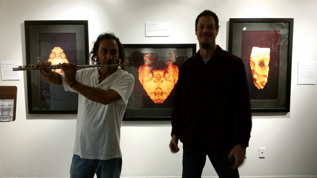 Sacred Rock Art Premiere at Phoenix & Dragon Bookstore Gallery Oct 2014