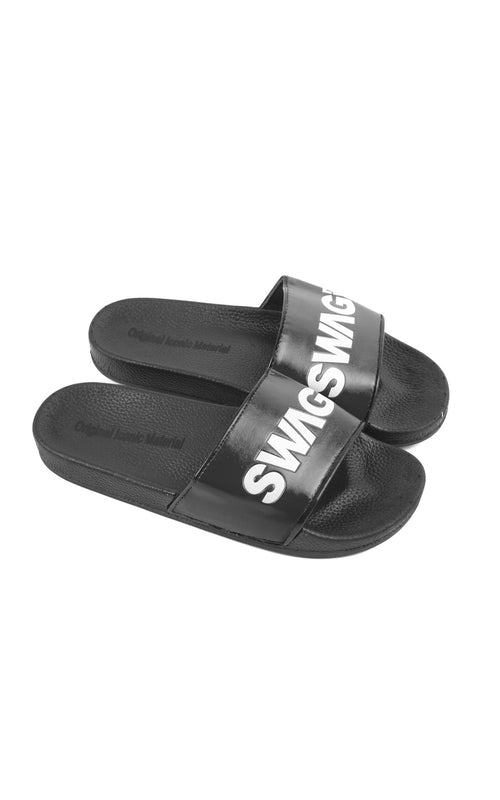Swag Ldn Iconic Black & White Slides