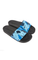 Swag Ldn Iconic Blue Camo Slides