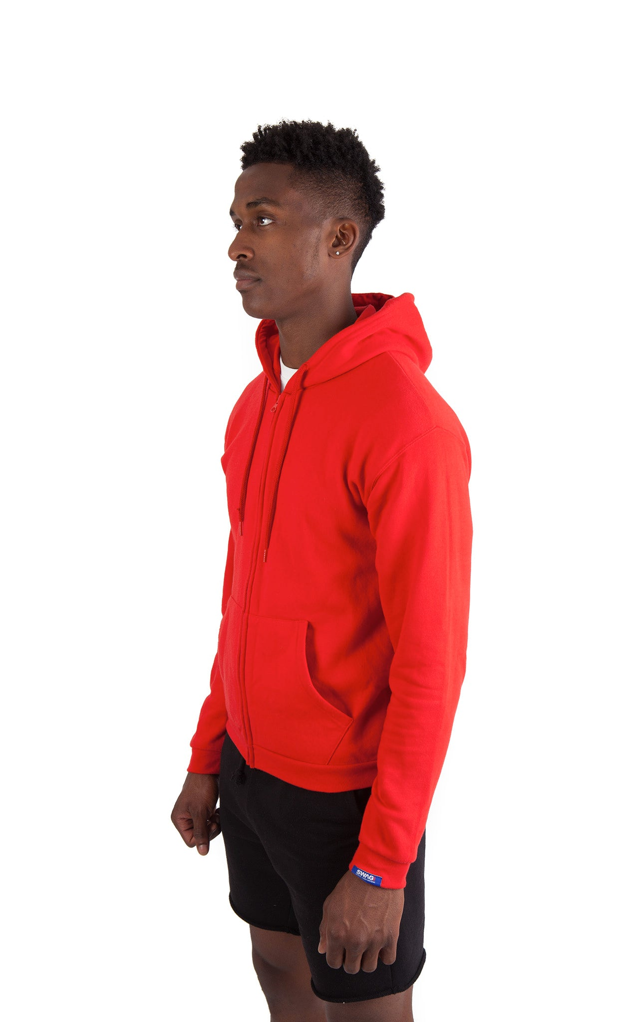 Exotic Red Zip Up