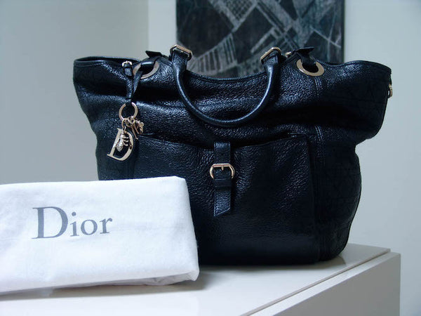 b8dd3309a9da Sold Out Christian Dior Deerskin Cannage Bee Tote