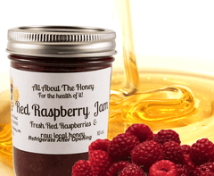 Raw Honey Fruit Preserves