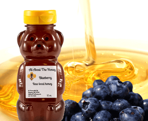 Blueberry Raw Local Honey
