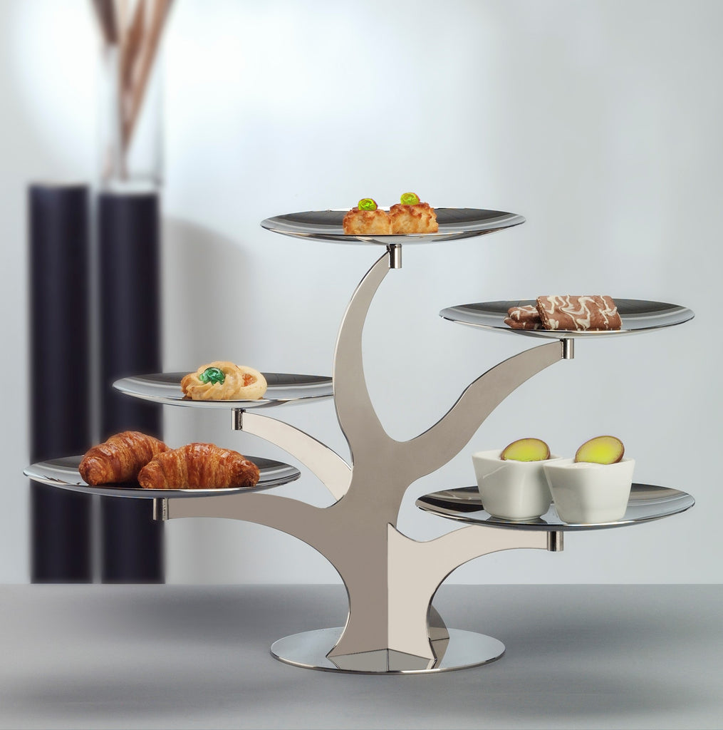 Elleffe Design to Highlight the New Alzate Collection of Tiered Serving Stands at the  International Home + Housewares Show 2017