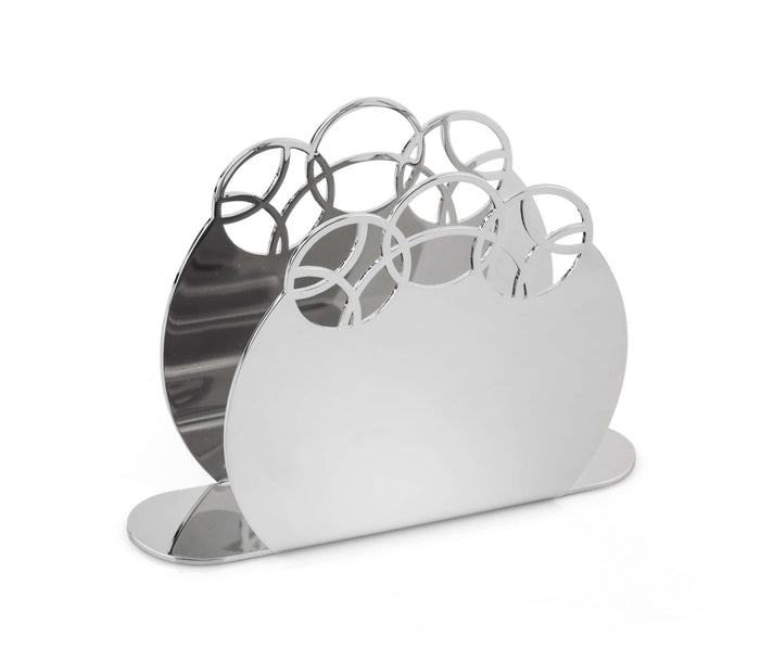 Elleffe Design North America :Bubble Napkin Holder in 18/10 Stainless Steel by Elleffe Design