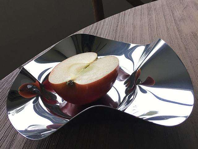 Elleffe Design North America :World X-tra Small Bowl in Stainless Steel Grade 18/10 by Elleffe Design