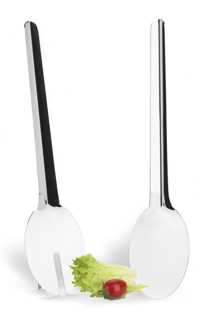 Elleffe Design North America :Salad Server Set in 18/10 Stainless Steel Grade 18/10 by Elleffe Design