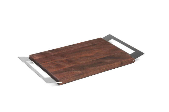 Elleffe Design North America :Taglieri White Handled Charcuterie Board by Elleffe Design