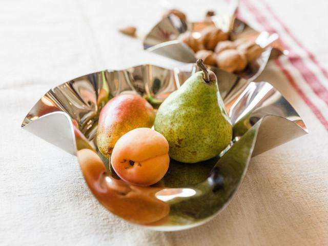 Elleffe Design North America :World Medium Fruit Bowl in Stainless Steel Grade 18/10 by Elleffe Design