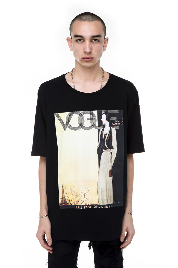 Vintage Vogue French Terry T-Shirt