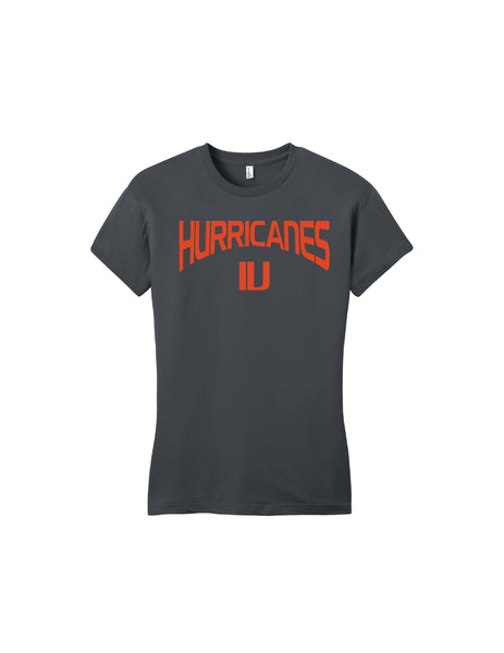 Canes Women's Fitted Tee