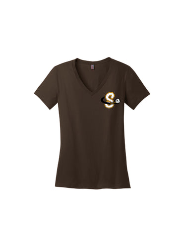 Team Soft Cotton Women's V-neck