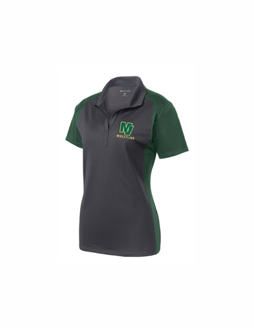 Mariners Ladies Colorblock Polo