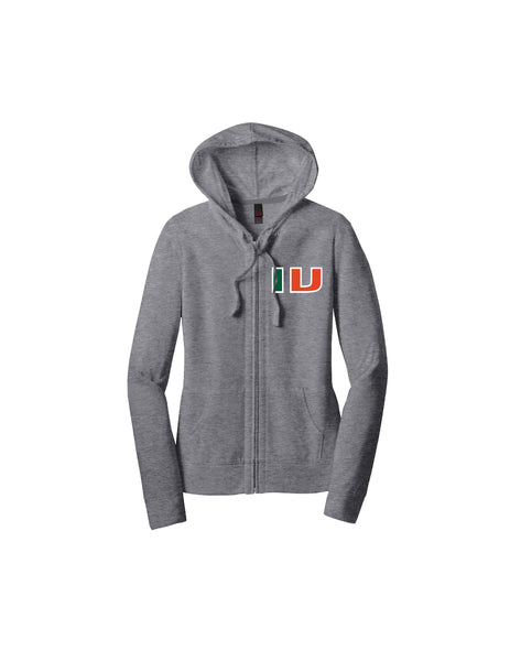 IV Women's Fitted Full-Zip Hoodie