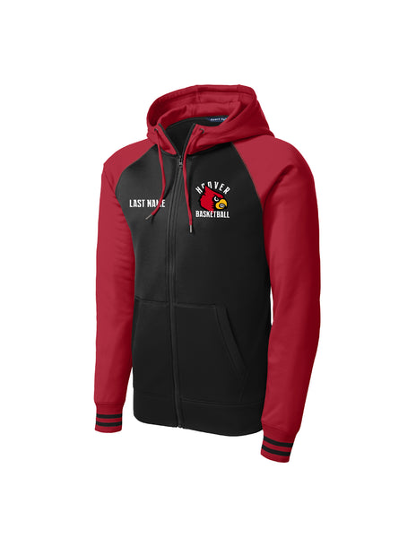 Cardinal Full-Zip Hooded Jacket