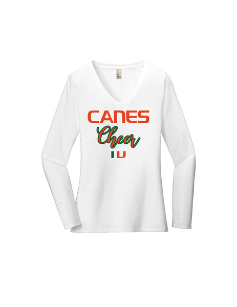Canes Cheer Long Sleeve