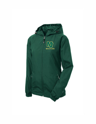 Ladies Team Hooded Reglan Jacket