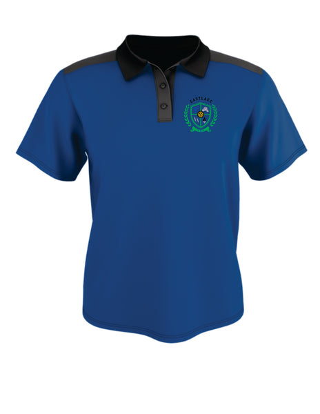 COLOR BLOCK GAMEDAY BASIC POLO