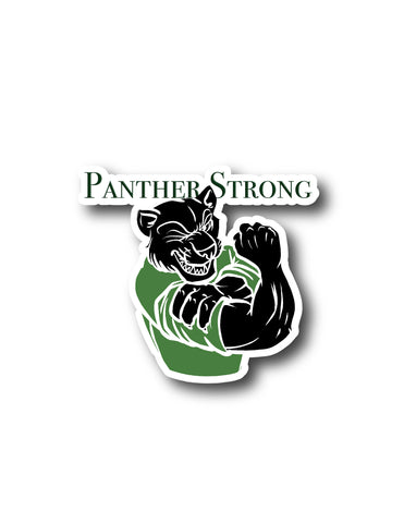 Panther Strong Sticker