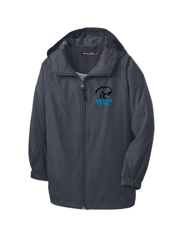 Cougars Hooded Reglan Jacket