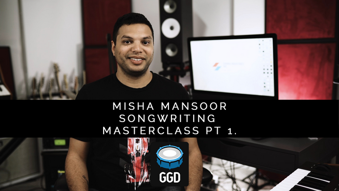Misha Mansoor Songwriting Masterclass part 1 of 3